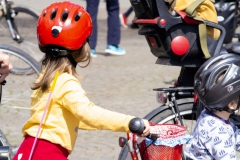 Kidical Mass Köln -Kinder auf Rad- Start Rudolfplatz Kinder