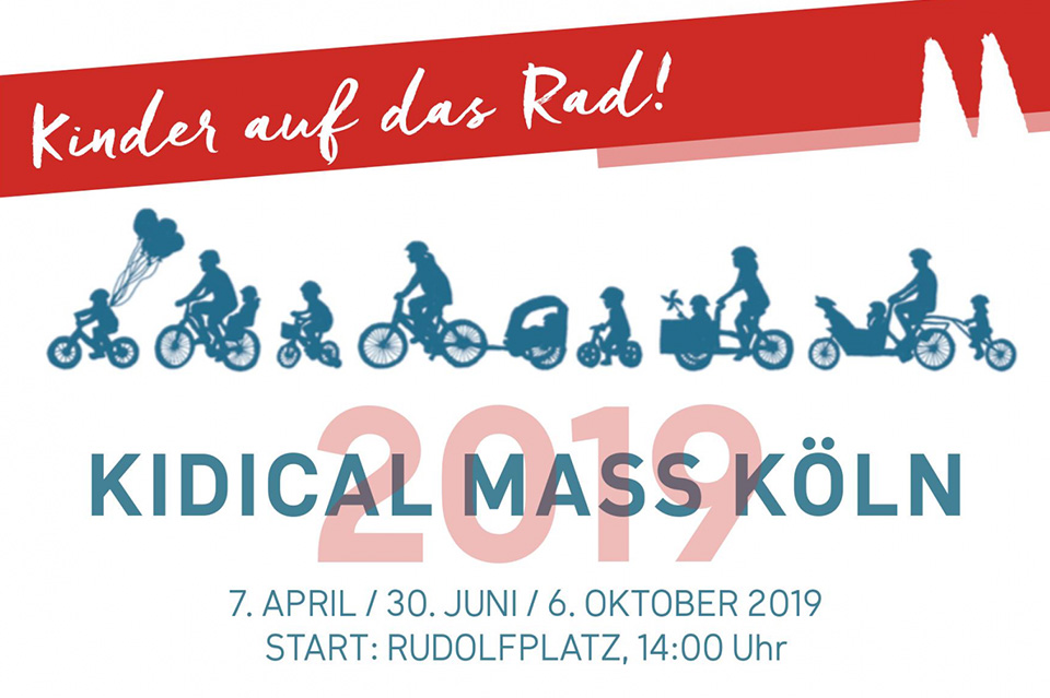 Kidical Mass Köln – Flyer 2019