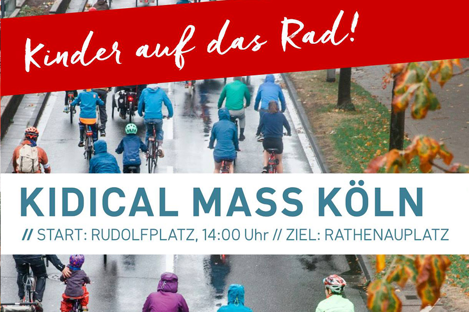Kidical Mass Köln – 1. Tour am 07. Apri
