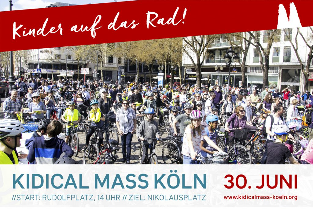 Kidical Mass Köln Juni 2019