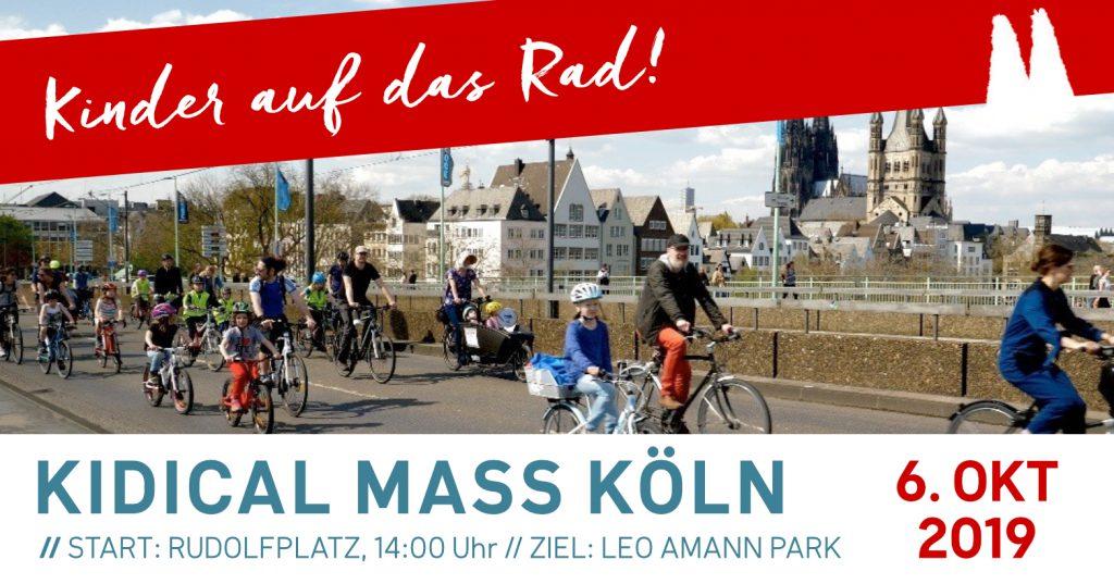 Kidical Mass Köln Oktober 2019