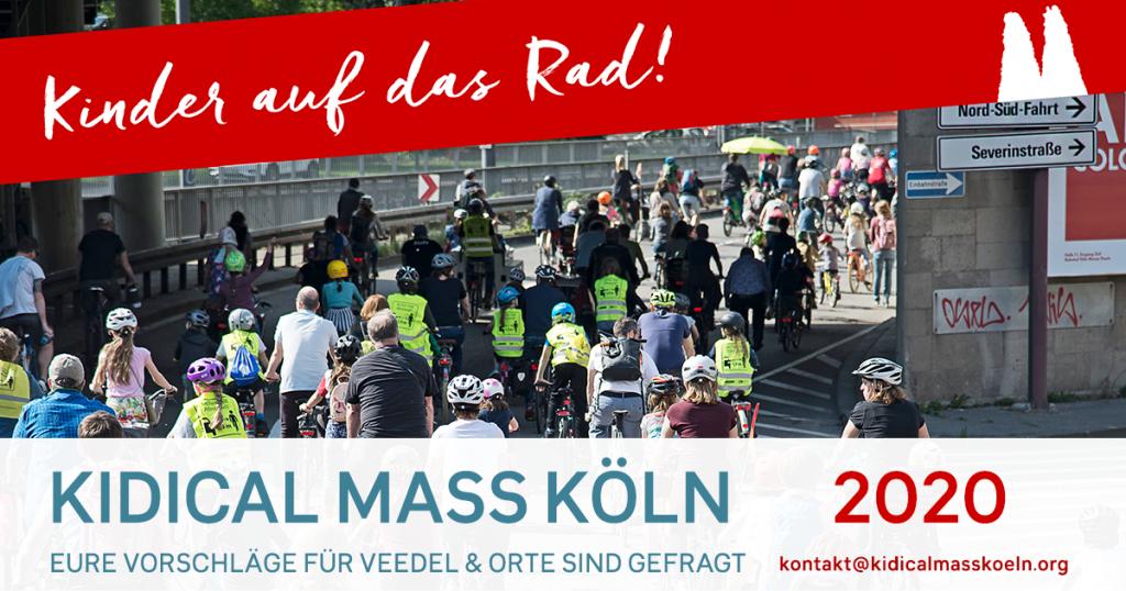 Kidical Mass Köln Orte