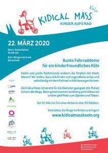 Poster Kidical Mass Köln