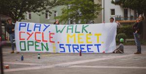 Kidical Mass Köln Spielstraße