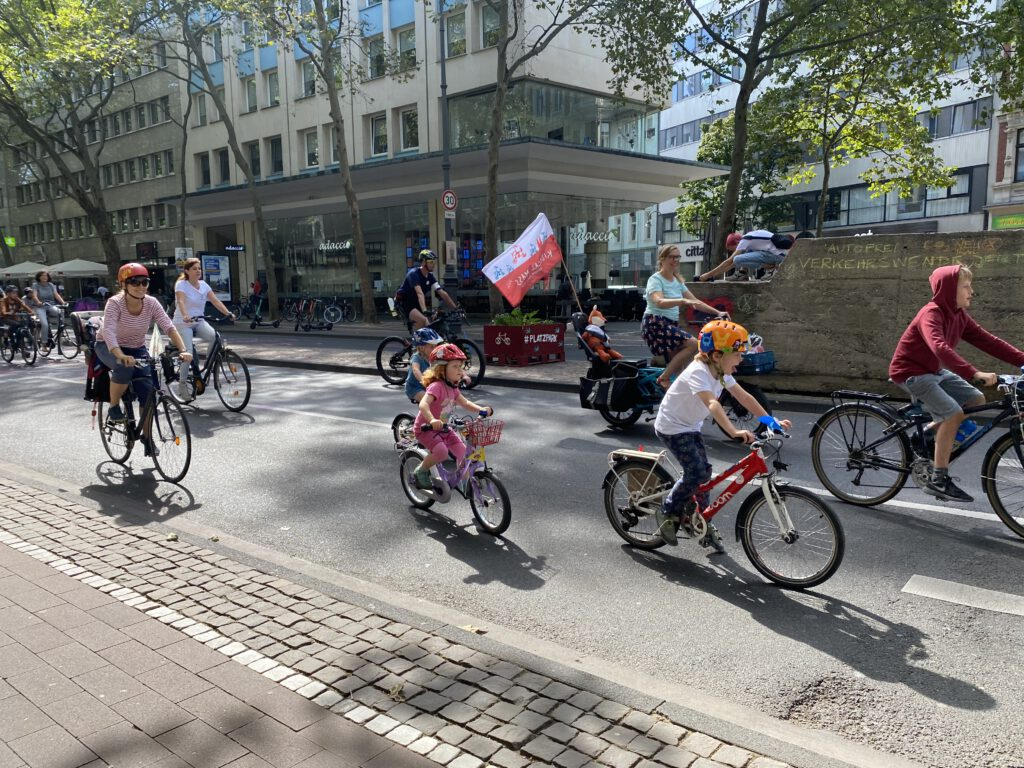 Kidical Mass Köln August 2020