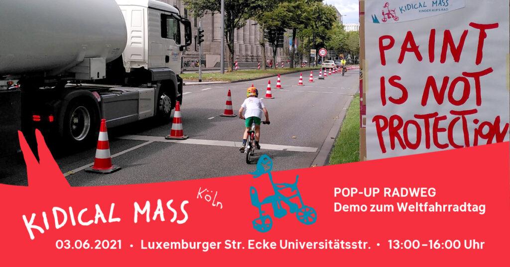 Tag des Fahrrads - Pop-Up Radweg