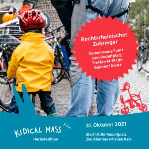 Kidical Mass Köln Oktober